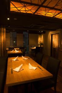 品川で大人数宴会が出来る和食/鉄板焼きのお店。