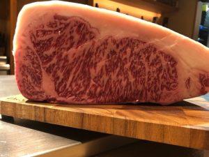 川崎の鉄板焼きで仙台牛を食べる!