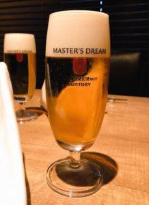 川崎の円居で鉄板焼きと一緒に神泡のビールを楽しみませんか?
