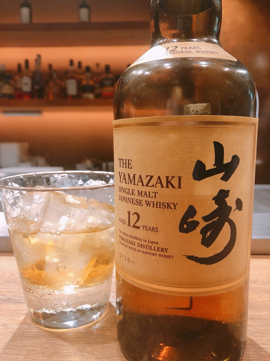 川崎の鉄板焼き【円居】のウイスキー