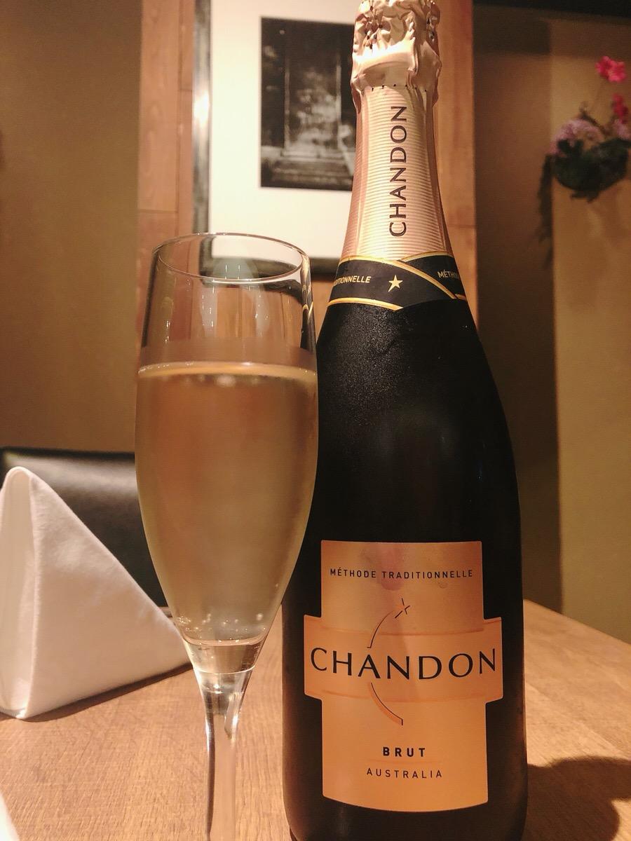 【円居 -MADOy- 川崎】では正統派スパークリングワイン「シャンドンブリュット」をご用意してます!